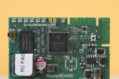 Процессор Mikrotik RouterBOARD mAP 2n