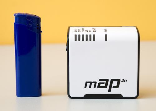 Mikrotik mAP 2n меньше зажигалки